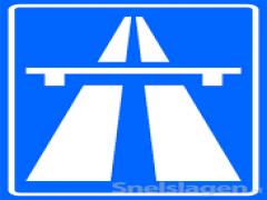 Wat is de maximale snelheid op een autosnelweg ?plaatje