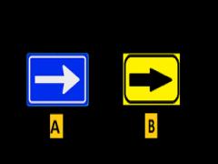 Welke verkeersbord bent u verplicht om te volgen ?plaatje